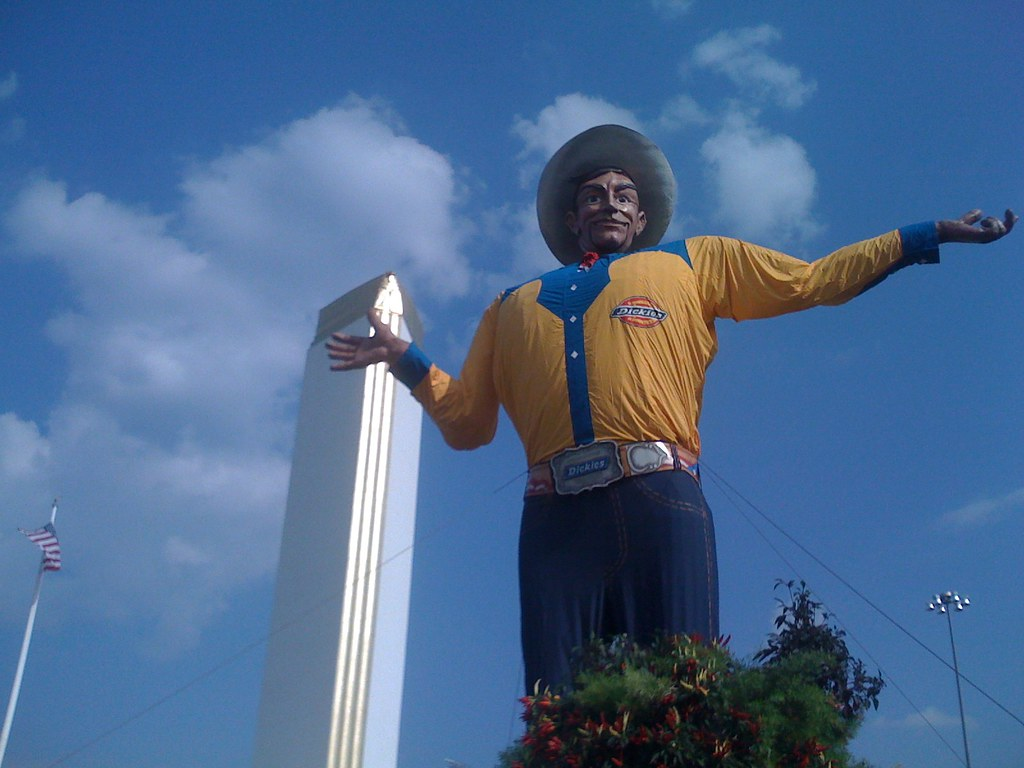big tex big tex wears is new yellow dickies western