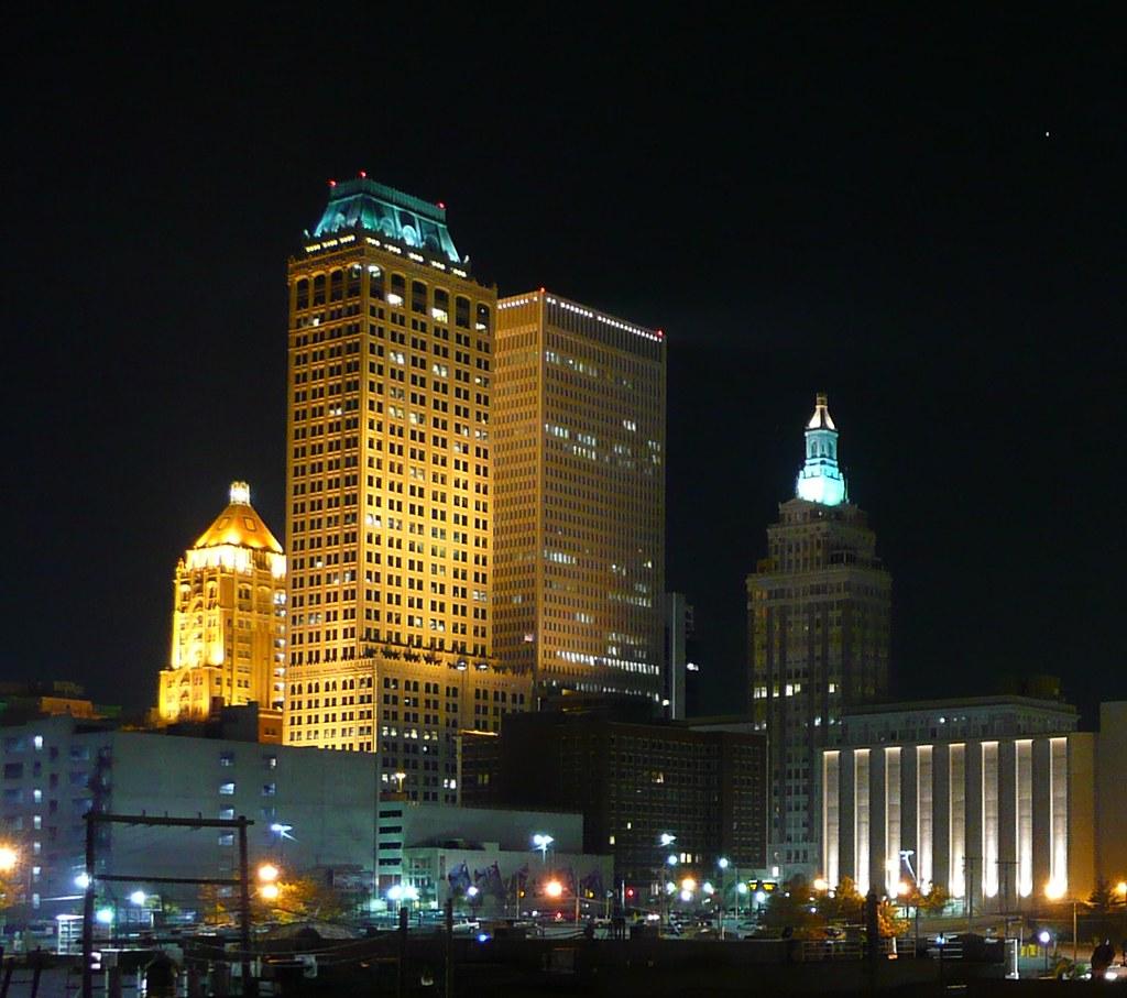 City Night Jobs: Tulsa, OK Downtown At Night