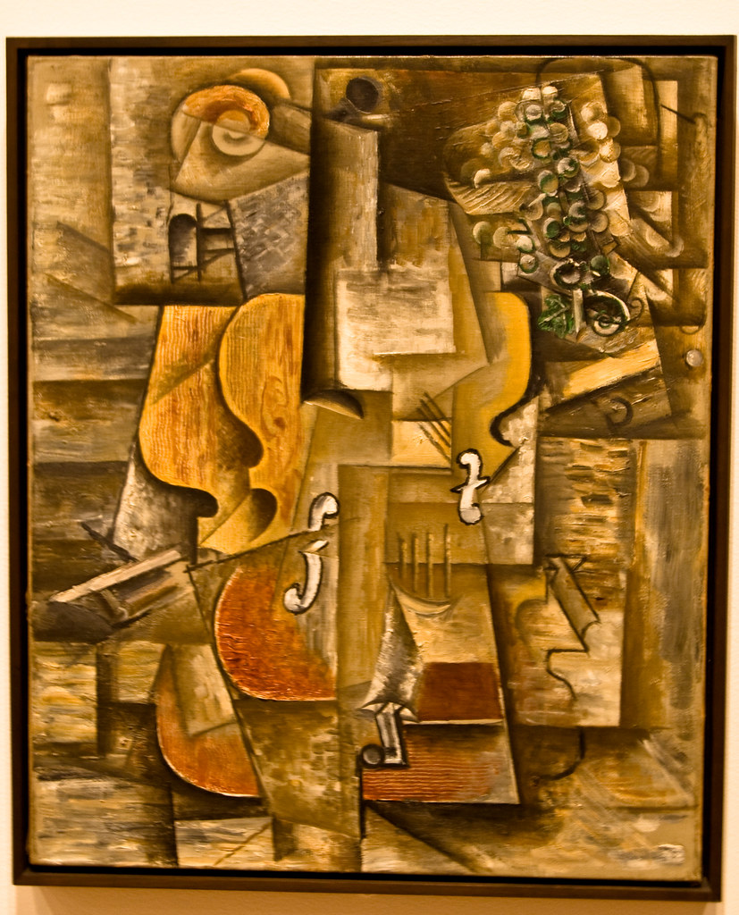 Violin and grapes pablo picasso moma nyc safeer for Painting jobs nyc
