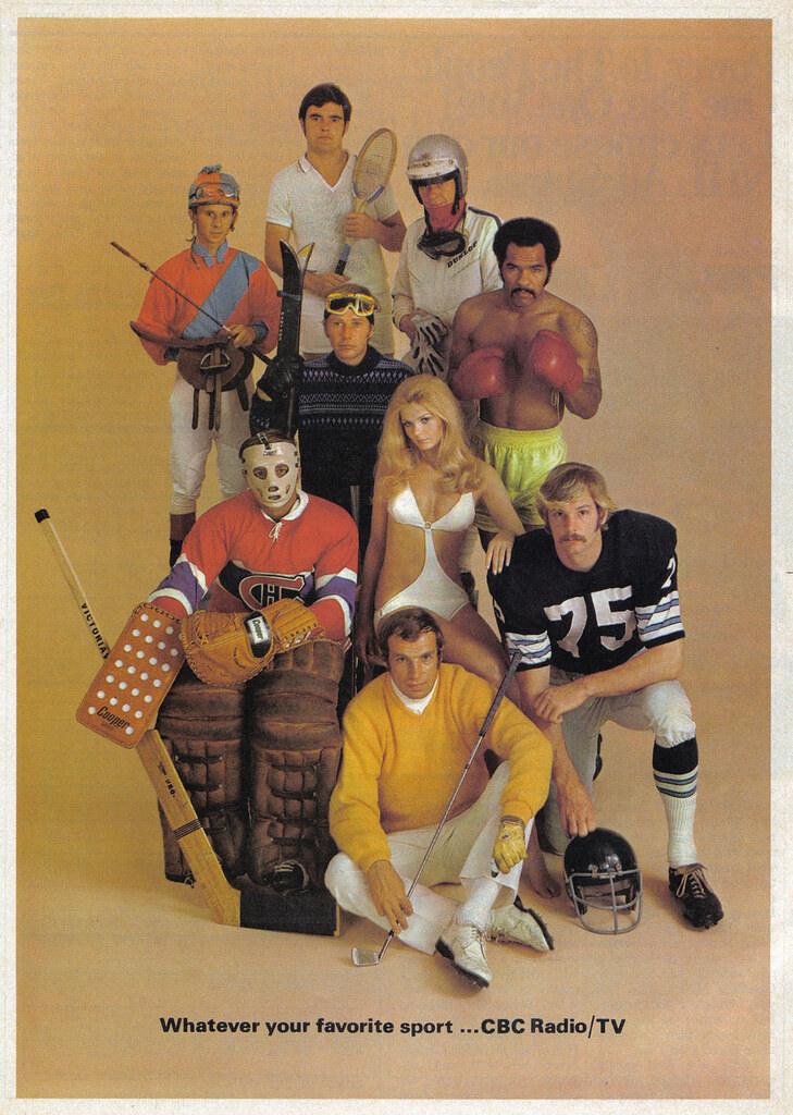 Vintage Ad 682 Cbc Has Your Favourite Sports Source Mac Flickr