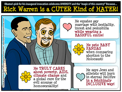 Rick Warren is a CUTER Kind of HATER! | by M1khaela