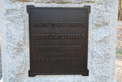 Major Joseph Winston Plaque | by NCReedplayer