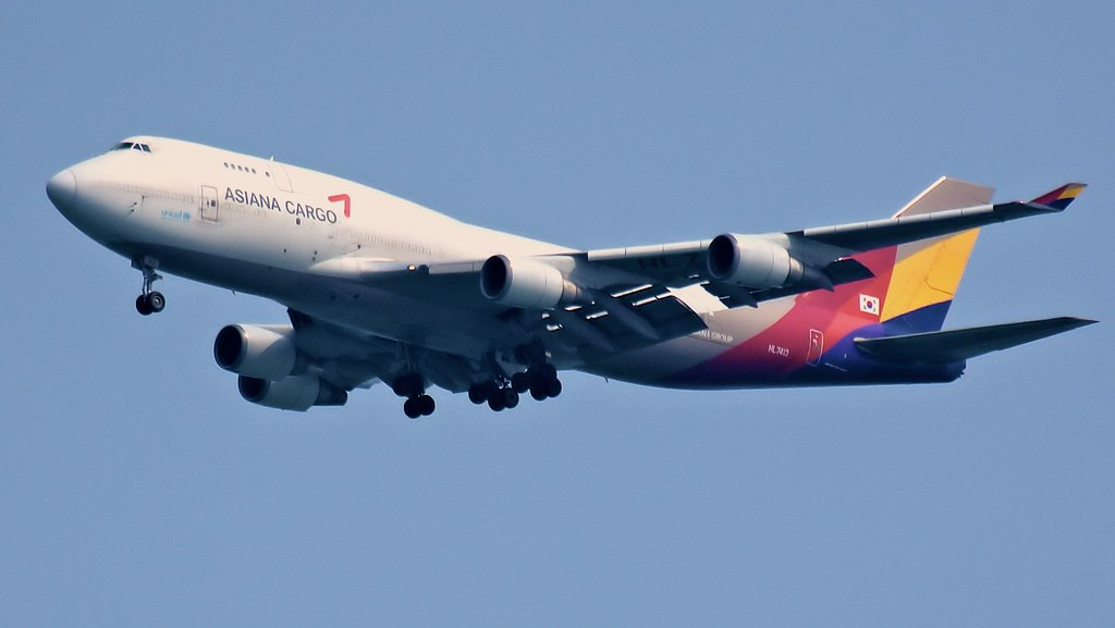 HL7413 | Boeing 747-48E(BDSF) | Asiana Airlines | Asiana C ...