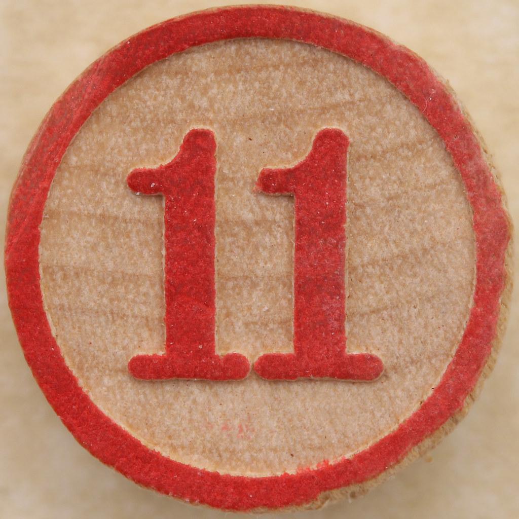 Bingo Number 11 | Leo Reynolds | Flickr Number 11 Pictures