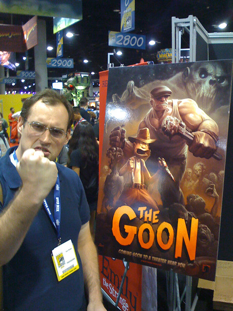 sean mcnally and his goon movie poster the goon has been