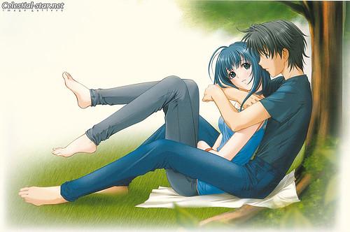 Cute anime couple shadmaria flickr - Image manga couple ...