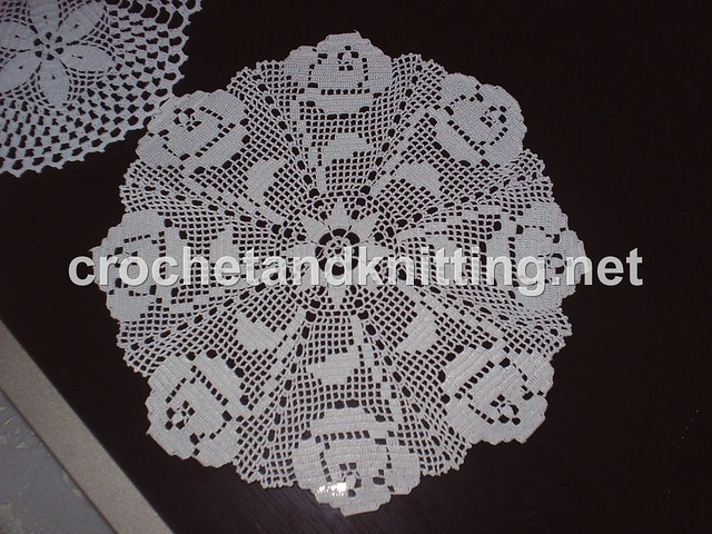 Round Crochet Doily Pattern M3372m 2103 Crochet Knitting Flickr