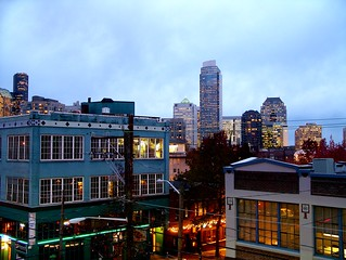 Downtown Seattle from Capitol Hill | by rutlo