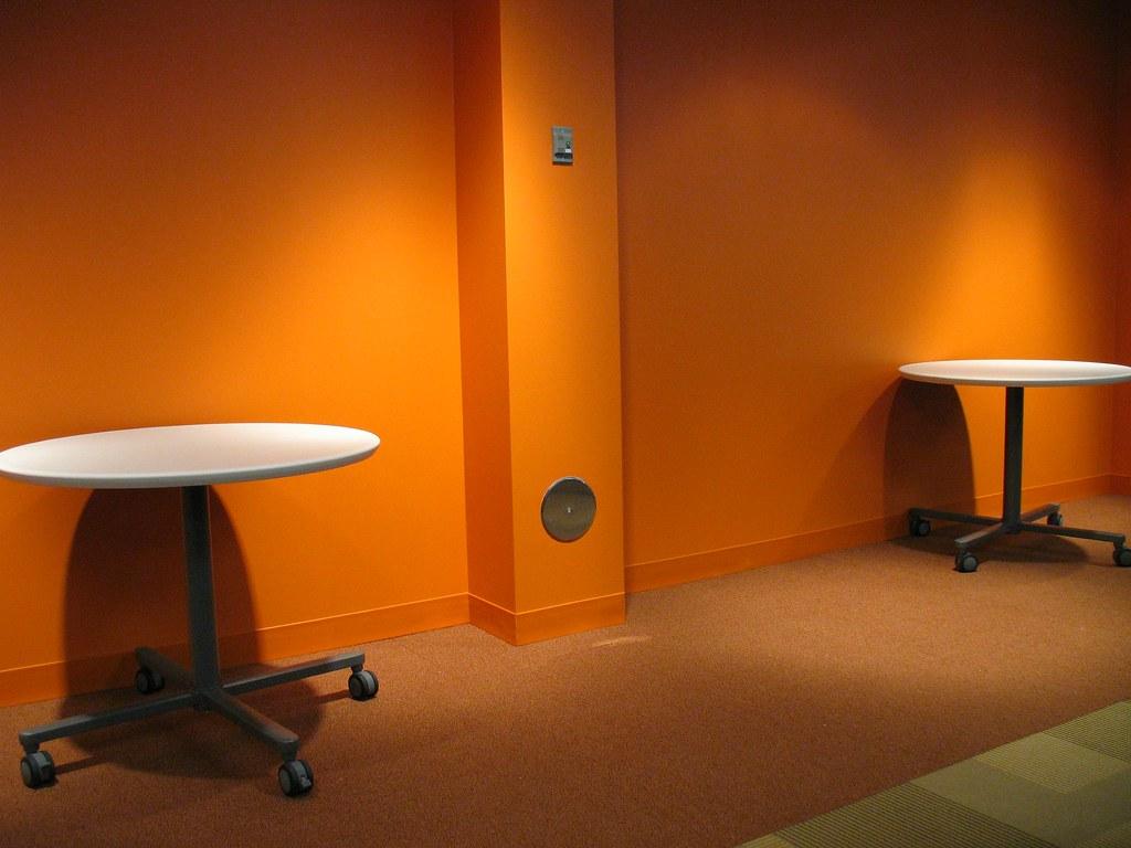 Orange Wall Room Ideas