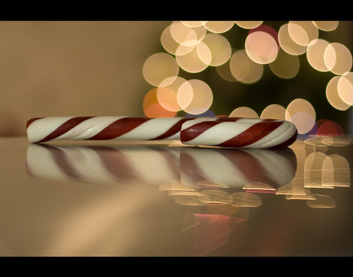 Candy Cane and  Bokeh | by believer9