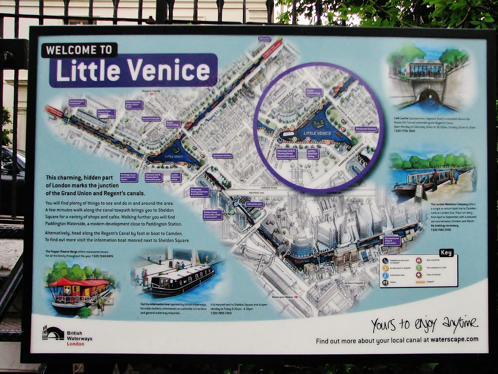 Little Venice Map David Fisher Flickr - Little venice map