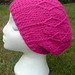 Pink cabled slouchy