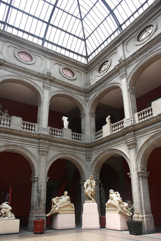 San Carlos National Academy Of Fine Arts In Mexico City