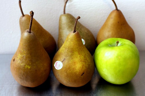 five pears, one apple | by smitten kitchen