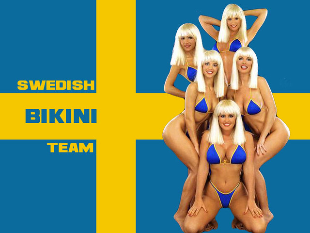 Sweedish Bikini Team