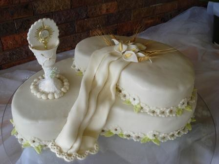 De torta de primera comunión - Imagui