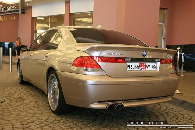 BMW 7 Series [Alpina B7] - rear left (silver) (Dubai, UAE,…   Flickr