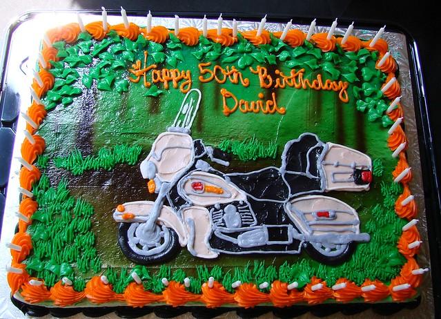 Happy Birthday Harley Cake