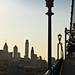 Sunset on Ben Franklin Bridge, Philadelphia