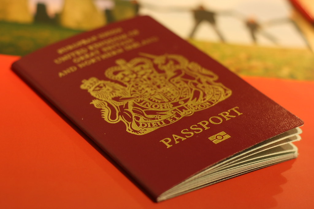 New Passport Has Arrived Chris Fleming Flickr