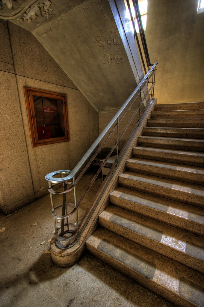 Back Up Camera >> Art Deco Staircase | This photo was taken in the same locati… | Flickr