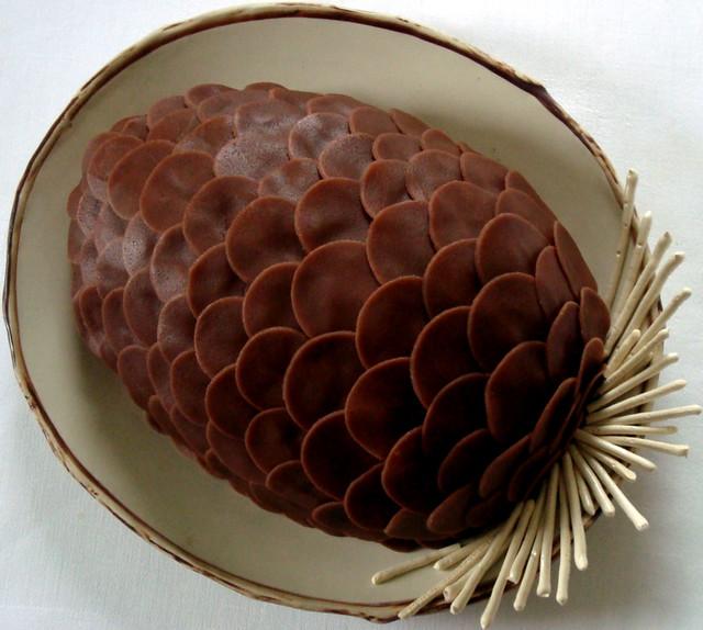 Chocolate Cake Cone Recipe