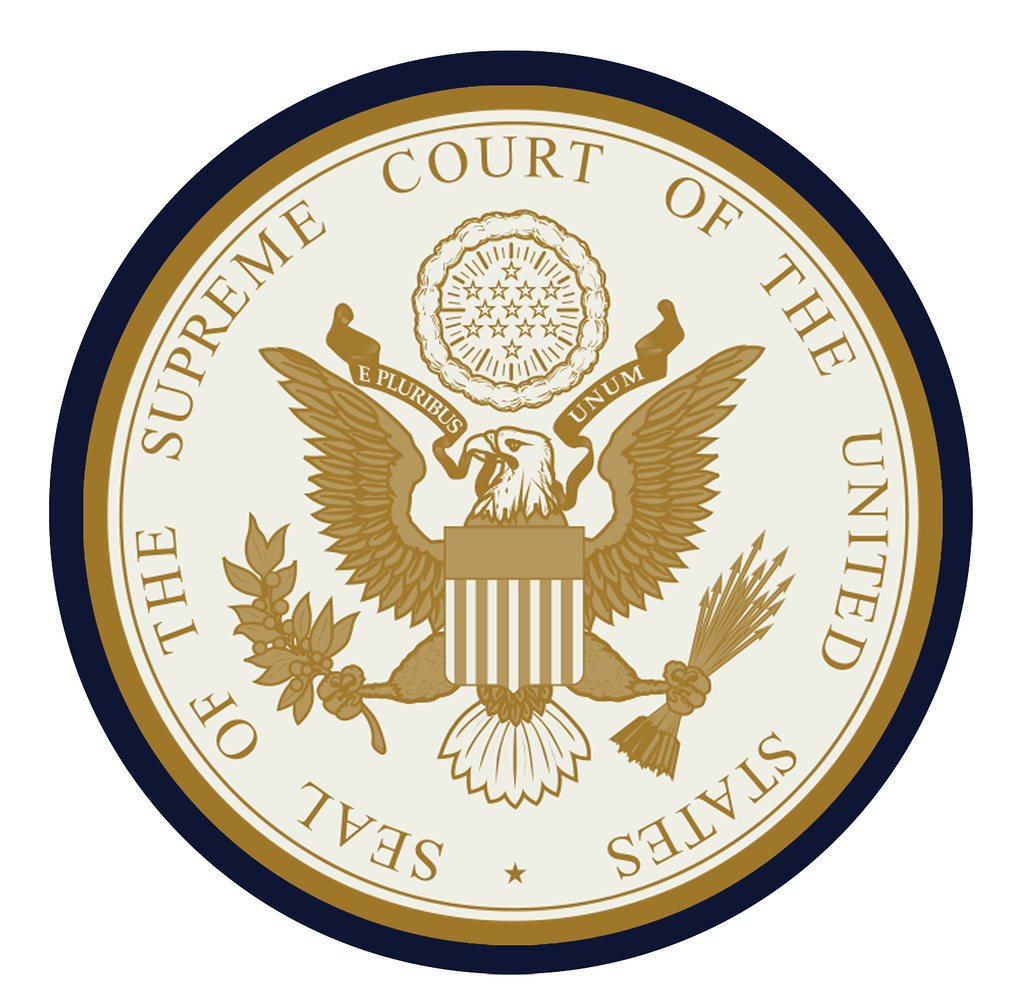 Supreme Court Of The United States Seal Thicker Outer Line Flickr