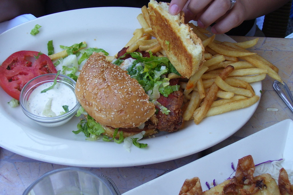 Spicy Crispy Chicken Sandwich at KCMO Cheesecake Factory Flickr