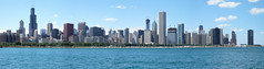 Chicago Skyline, Lakeview panorama by Porschista