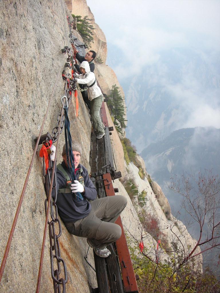 Hua Shan Plank Walk 20 | Follow my travels online at ...