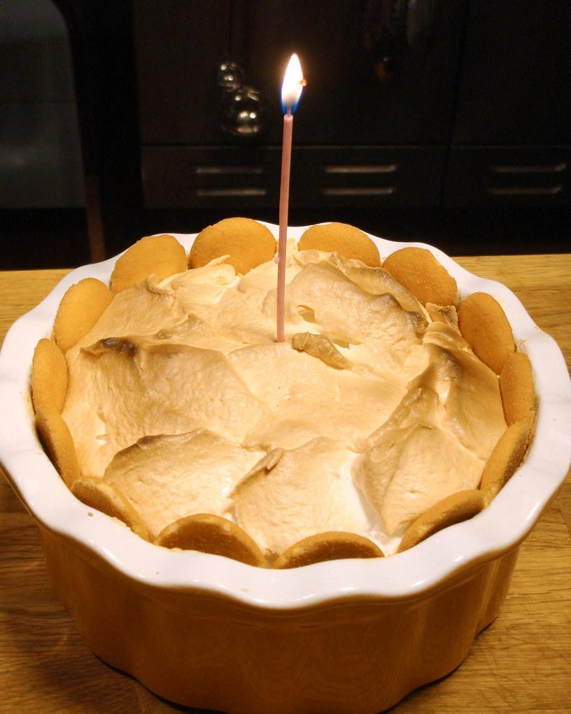 Banana Birthday Cake For Baby