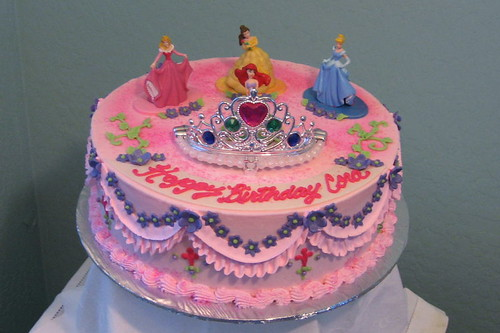 Easy Princess Birthday Cake