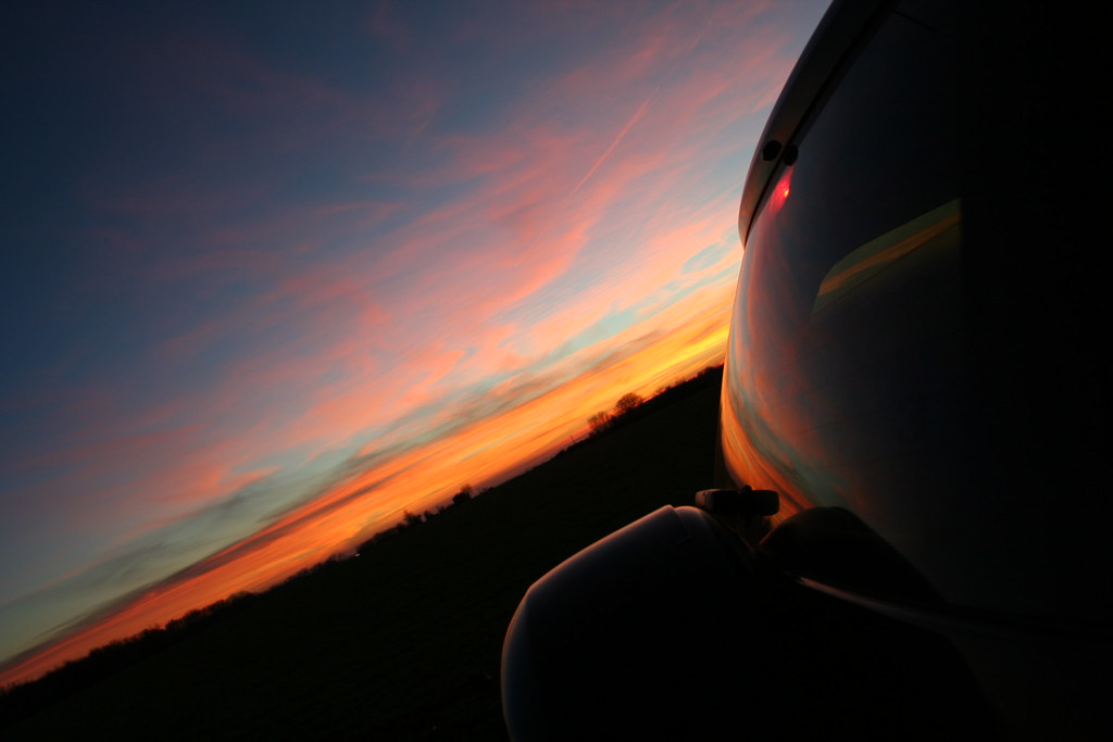 In Car Camera >> Sunset on the car window | Check out my portfolio and other … | Flickr