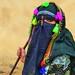 Yemeni shepherd girl