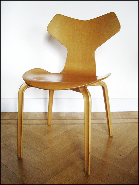 Chaise grand prix arne jacobsen fritz hansen 1956 flickr for Chaise 1er prix