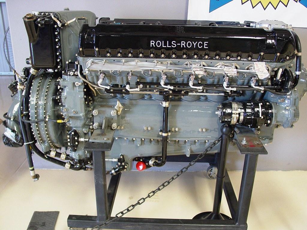 Rolls Royce Griffon V 12 2 435 Hp Planes Of Fame Chino C