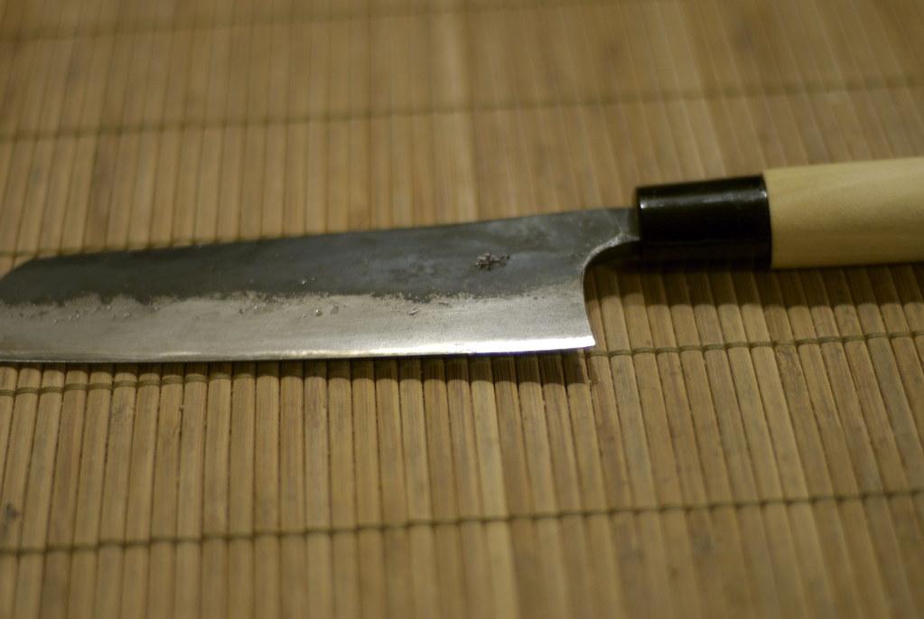 White Kitchen Knife Set