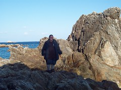 Me on the rocks
