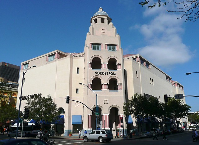 San Diego, CA Nordstroms at Horton Plaza