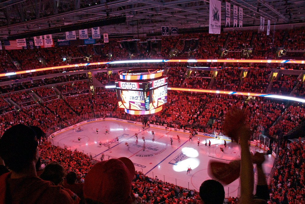 rock the red at verizon center