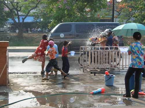Songkran, Chiang Mai 2008 | by recoverling