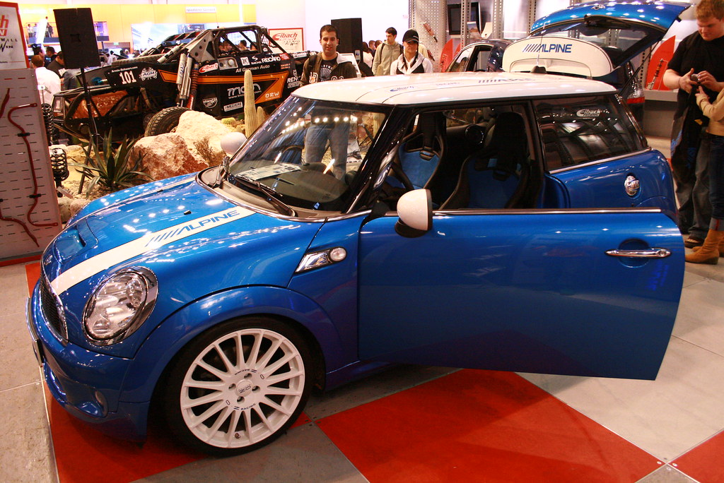 mini cooper s mini cooper s auf der essen motorshow 2007 maik lehnicker flickr. Black Bedroom Furniture Sets. Home Design Ideas