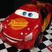 second lightning mcqueen cake