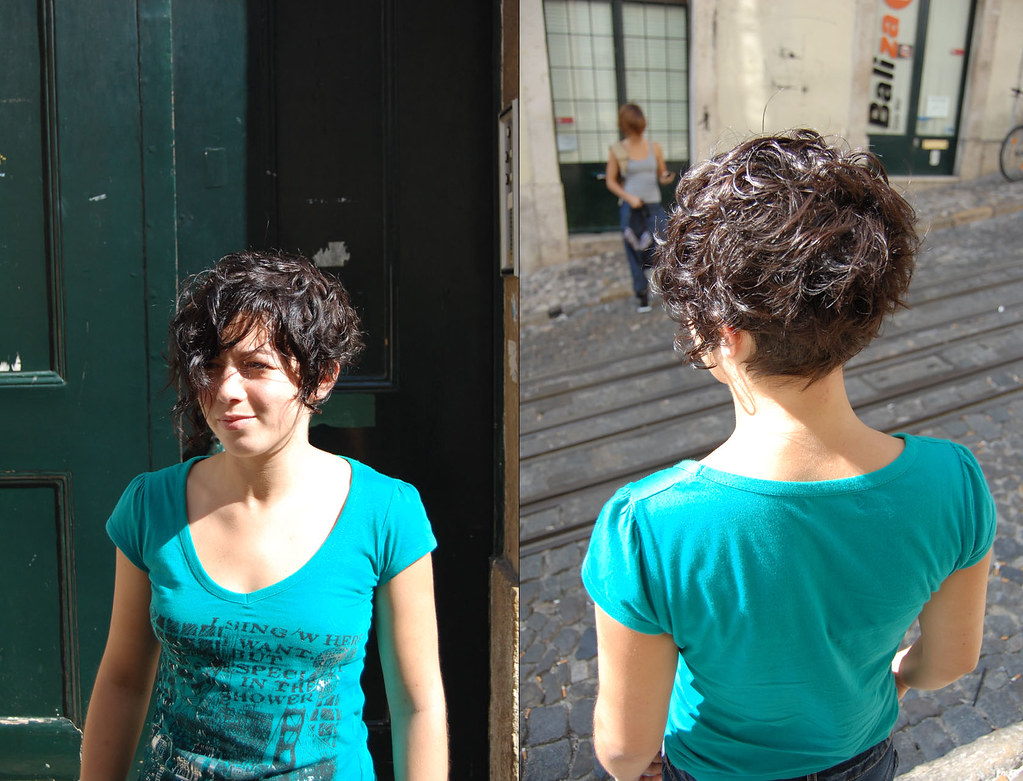 Haircut Short Curly Carla Our Assistant Haircut By In 234 S