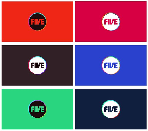Dixonbaxi Five Logo Examples Of The Five Colour Palette
