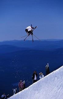 Skier | by timberline.mthood