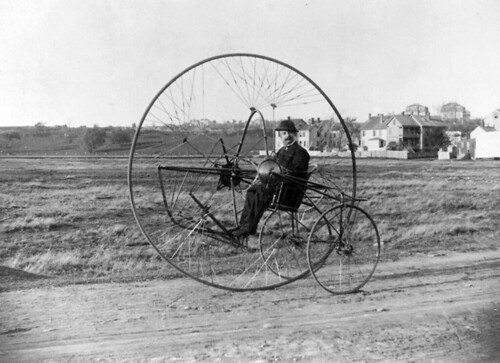 Oldreive's New Iron Horse tricycle, ca. 1882 | by trialsanderrors