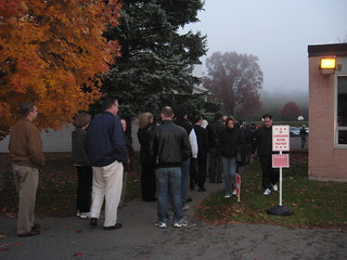 Early Bird Voters | by WNPR - Connecticut Public Radio