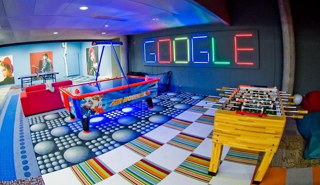 google zurich office - games room   pineapplebun   Flickr