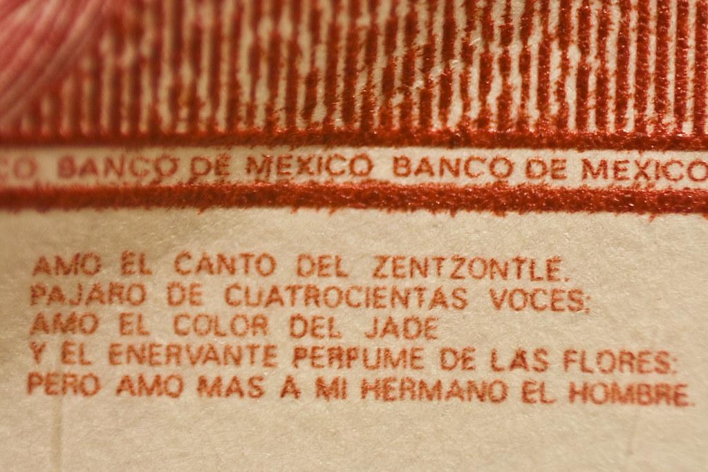 100 pesos mexicanos: